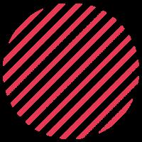 LLokaal_Patronen_Stripes dik Rood