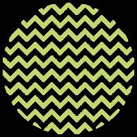 LLokaal_Patronen_Waves Lime Groen