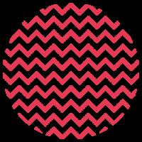 LLokaal_Patronen_Waves Rood
